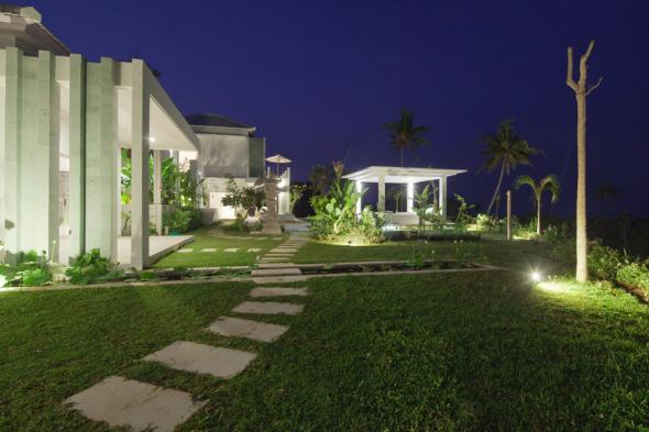 Villa Zoubi by night